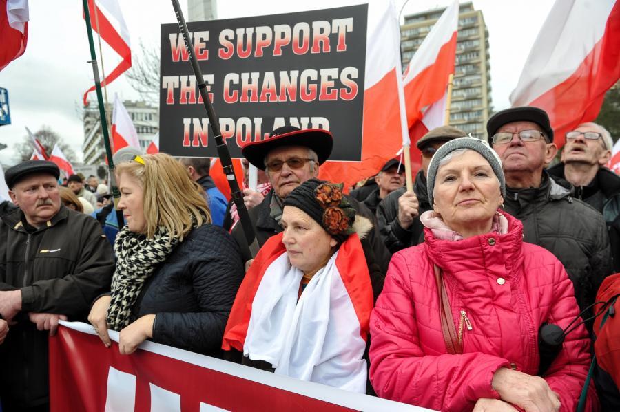 Leśnicy przed Sejmem