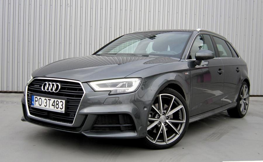 Audi A3 Sportback - 3. miejsce w zestawieniu