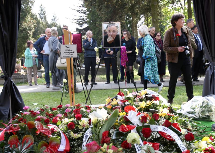 Uroczystości pogrzebowe prof. Wiktora Osiatyńskiego
