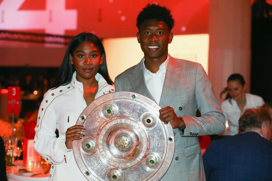 David Alaba i Rose May Alaba
