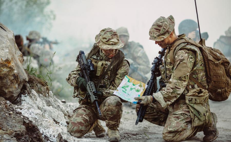 Brytyjscy komandosi