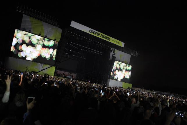 Foo Fighters na Open'er Festival 2017; 29.06.2017
