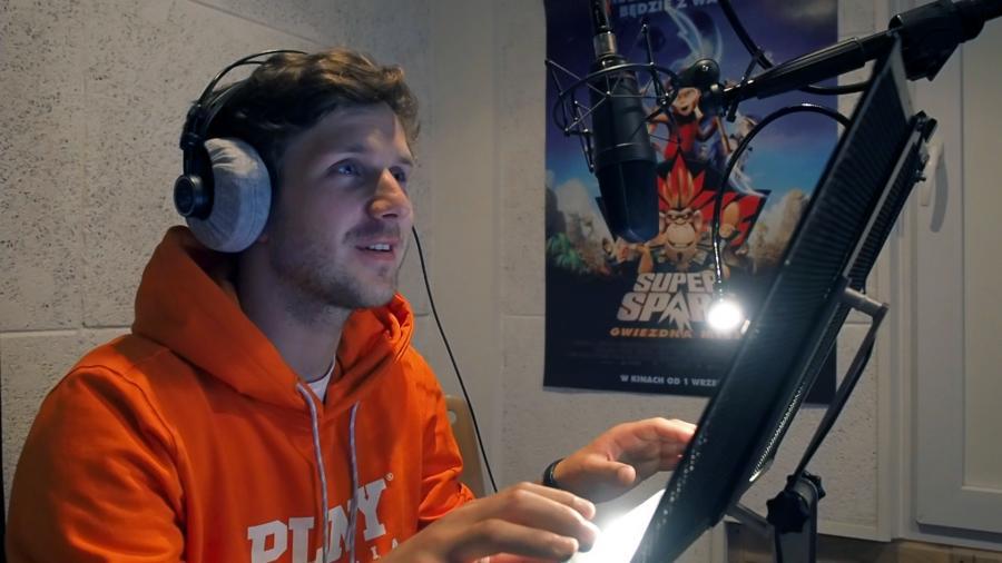 Antek Królikowski użycza głosu w filmie \