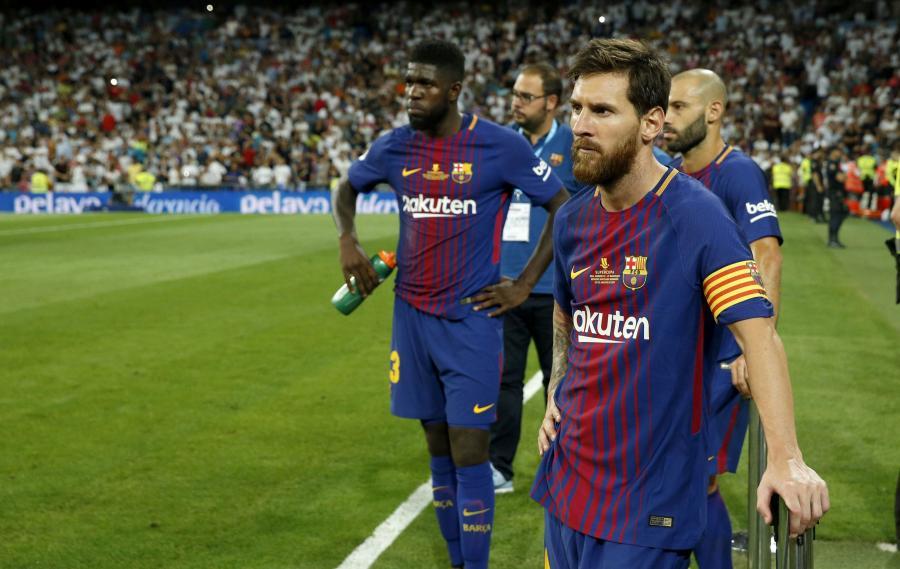 Lionel Messi i Samuel Umtiti