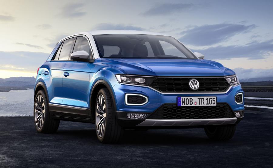 T-Roc to najmniejszy, czwarty SUV w ofercie Volkswagena - obok Tiguana, Touarega i modelu Atlas