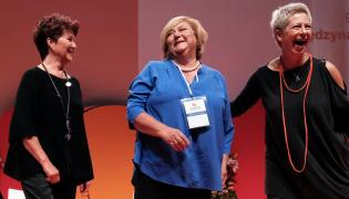 Jolanta Kwaśniewska, Anna Komorowska i Dorota Warakomska