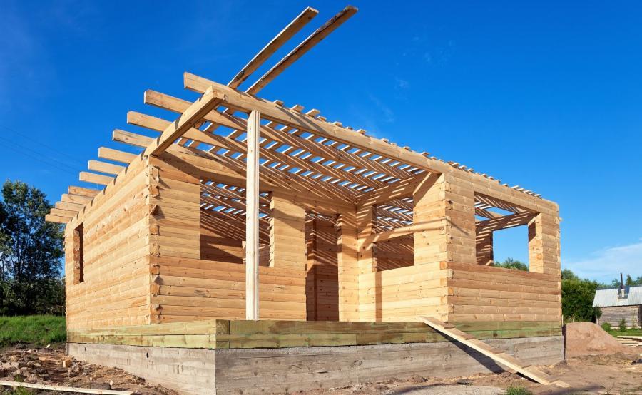 Dom z drewna