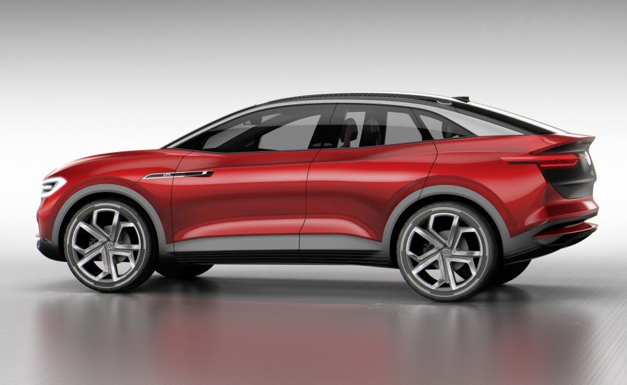 Volkswagen I.D.CROZZ II to crossover łączący cechy SUV-a i czterodrzwiowego coupe, zbliżony do przyszłego modelu seryjnego