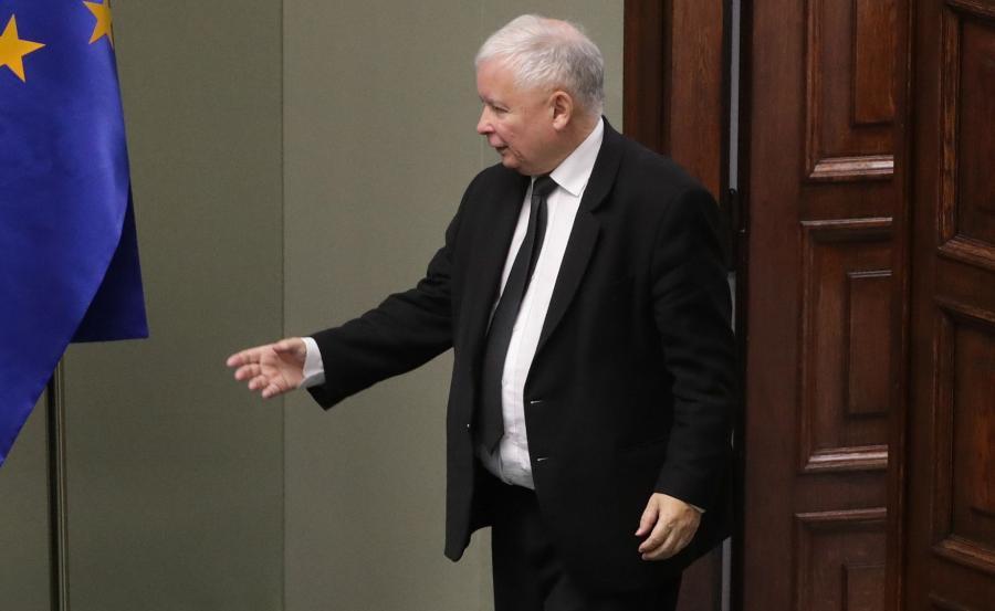 To Jarosław Kaczyński nazwał kanaliami posłów opozycji