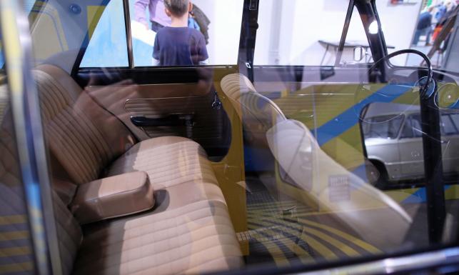 Fiat 125p GTJ i inne cuda na wystawie. Oto szalone dzieło Andrzeja Jaroszewicza, pierwszego playboya PRL