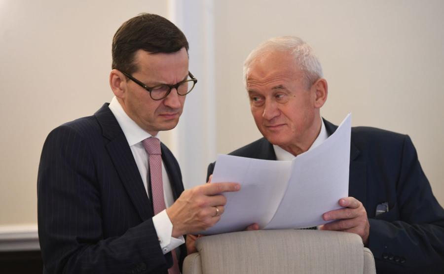 Mateusz Morawiecki i Krzysztof Tchórzewski