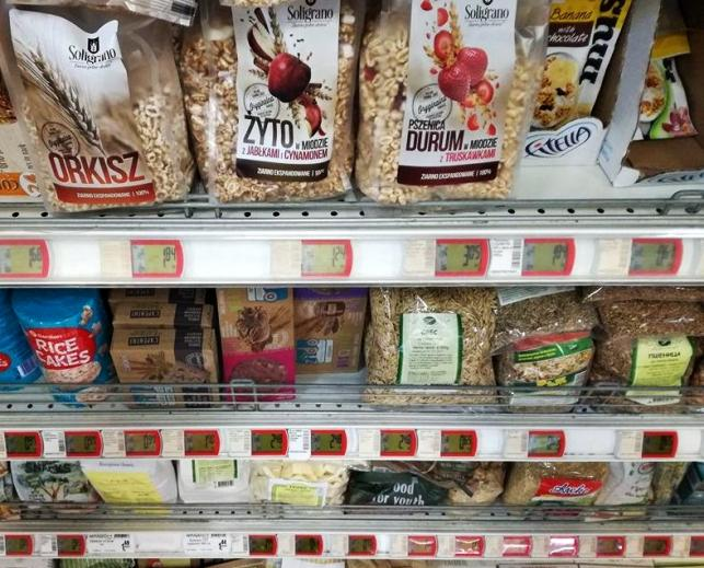 Polskie produkty w sklepach