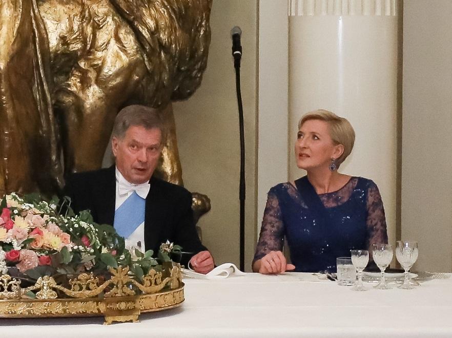 Sauli Vainamo Niinisto i Agata Kornhauser-Duda