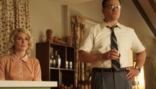 "Julianne Moore i Matt Damon w filmie ""Suburbicon"""
