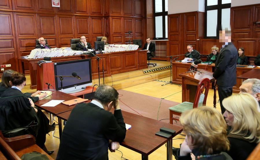Świadek na procesie Arabskiego