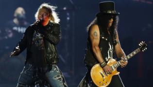 Guns 'N Roses w akcji