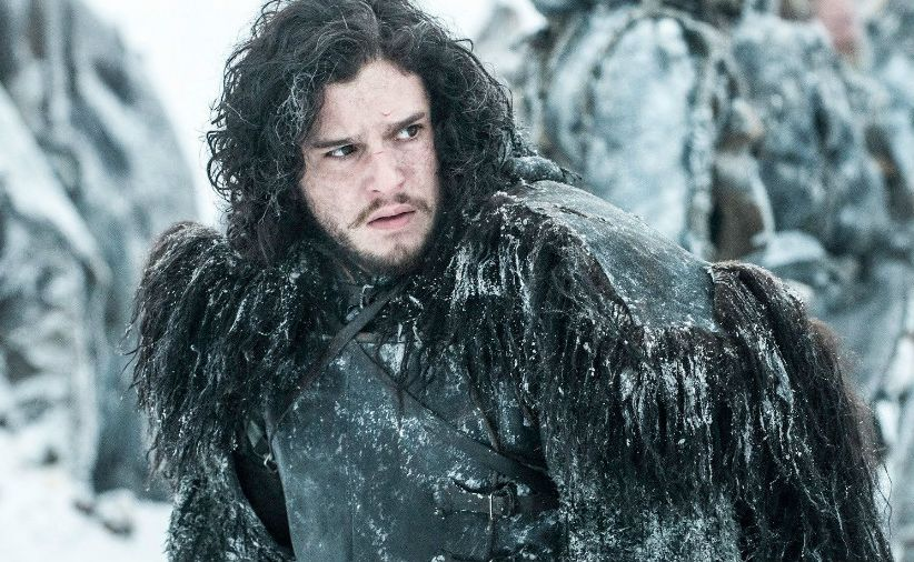 Kit Harrington jako Jon Snow w serialu \