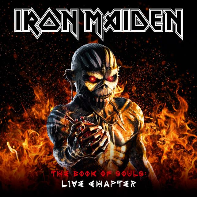 "Iron Maiden ""The Book Of Souls Live Chapter""; Warner Music Polska"