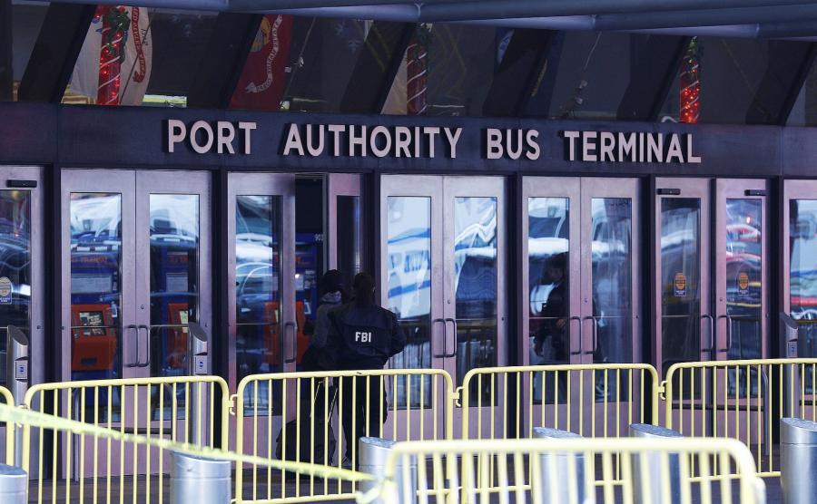 Dworzec w Nowym Jorku