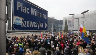 Protest w Katowicach