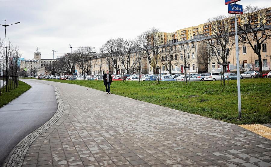 Plac Zwycięstwa w Łodzi