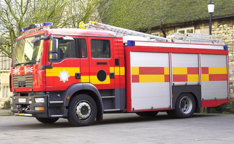 Angielska straż pożarna