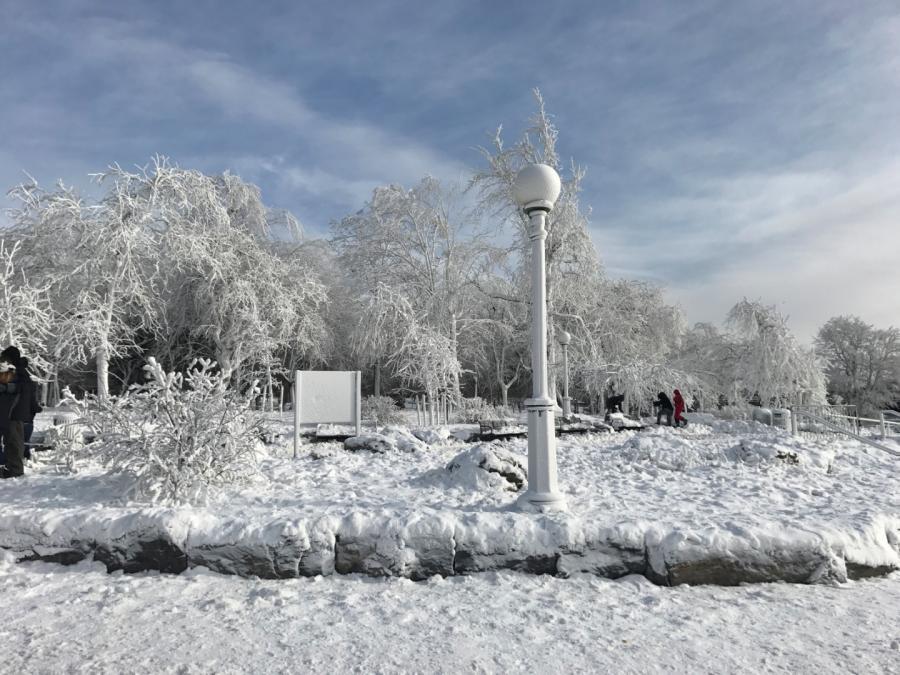 Okolice Niagary skute lodem