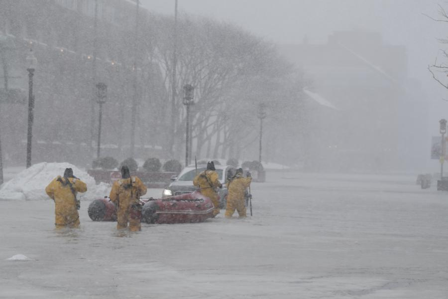 Atak zimy w Bostonie