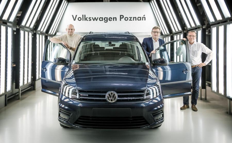 Volkswagen Caddy powstaje w Poznaniu