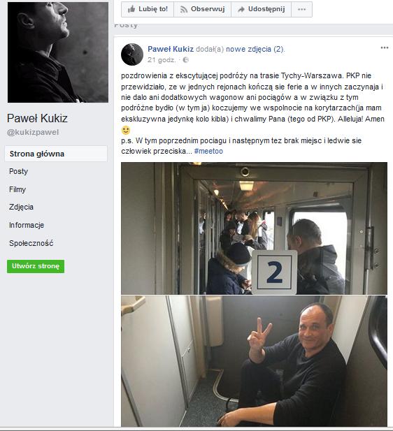 Paweł Kukiz na Fb
