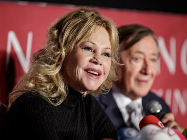 Melanie Griffith i Richard Lugner