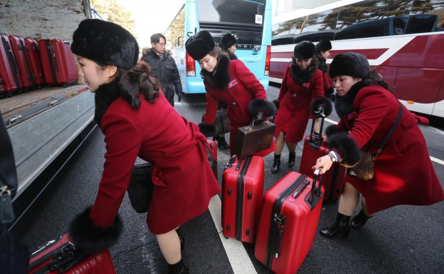 Cheerleaderki z Korei Północnej