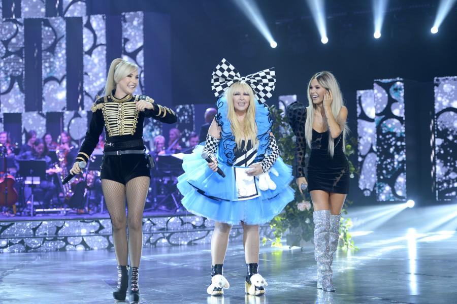 Cleo, Maryla Rodowicz i Doda na scenie festiwalu w Opolu w 2017 roku