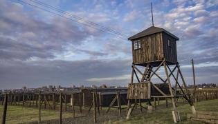 Pozostałości niemieckiego obozu koncentracyjnego na Majdanku