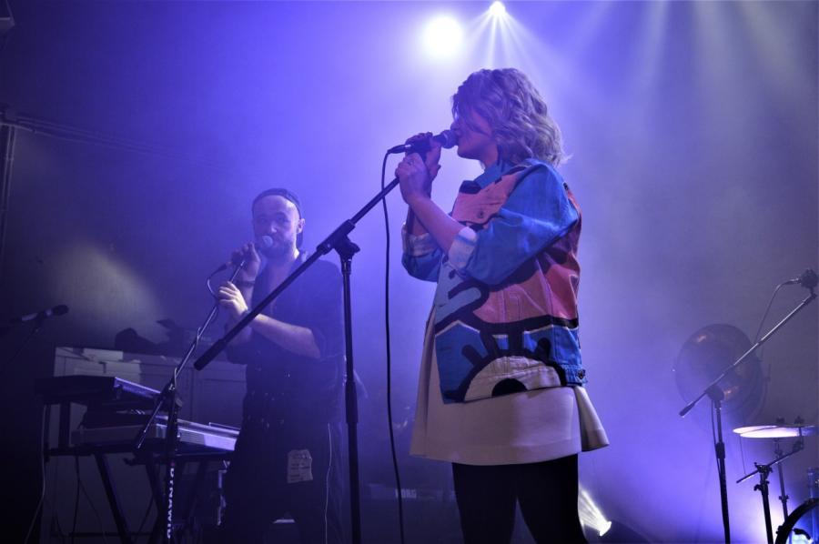 Marika gościnnie u Buslava. Koncert w klubie Niebo, Warszawa; 14.03.2018