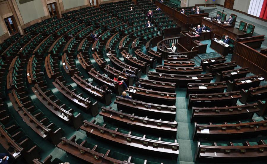 Przemówienie szefa MSZ w Sejmie