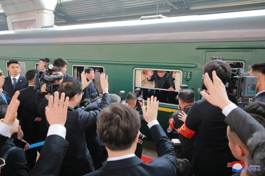 Pociąg Kim Dzong Una