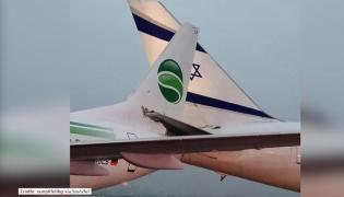 Incydent na lotnisku w Tel Awiwie