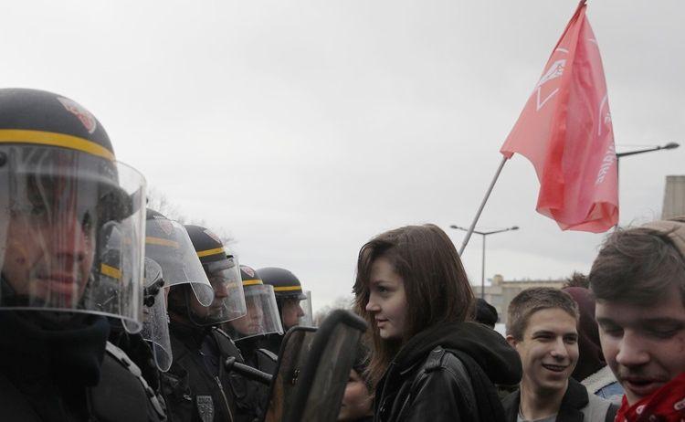 Strajk studentów we Francji