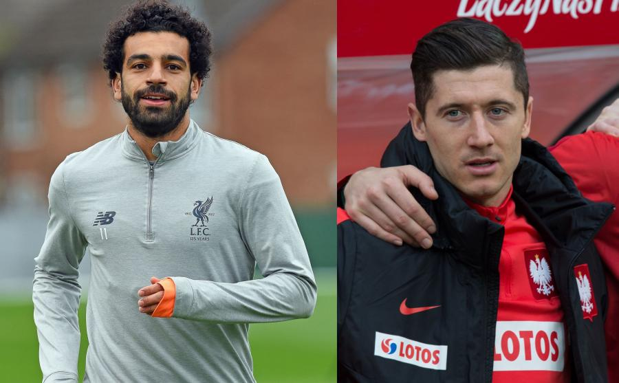 Mohamed Salah i Robert Lewandowski