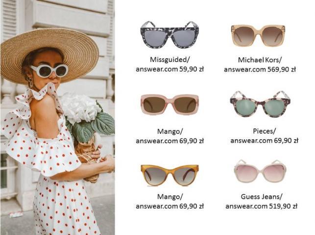17ffb025201706 Stylowa ochrona oczu: modne fasony okularów przeciwsłonecznych na ...