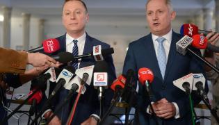 Krzysztof Brejza i Sławomir Neumann
