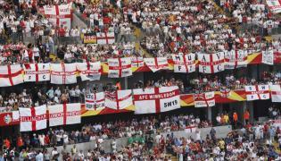 Kibice reprezentacji Anglii
