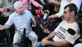 Lech Wałęsa w Sejmie