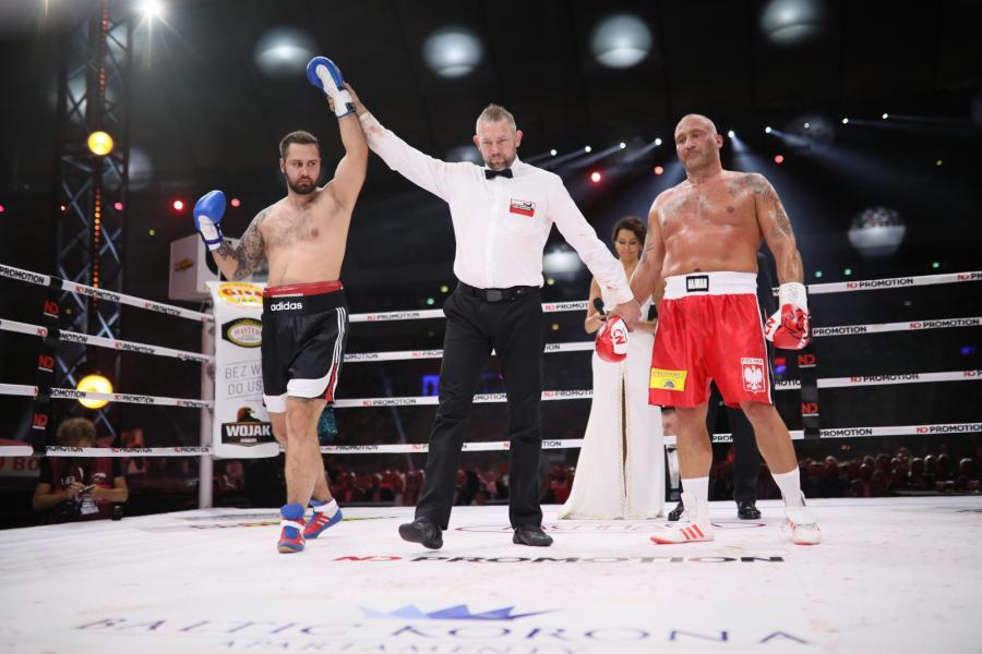 Marcin Najman i Richard Biggis