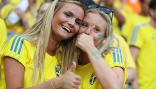 Fanki reprezentacji Szwecji