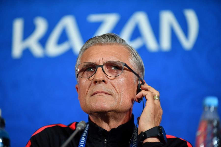 Trener piłkarskiej reprezentacji Polski Adam Nawałka