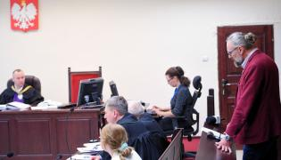 Mateusz Kijowski w sądzie