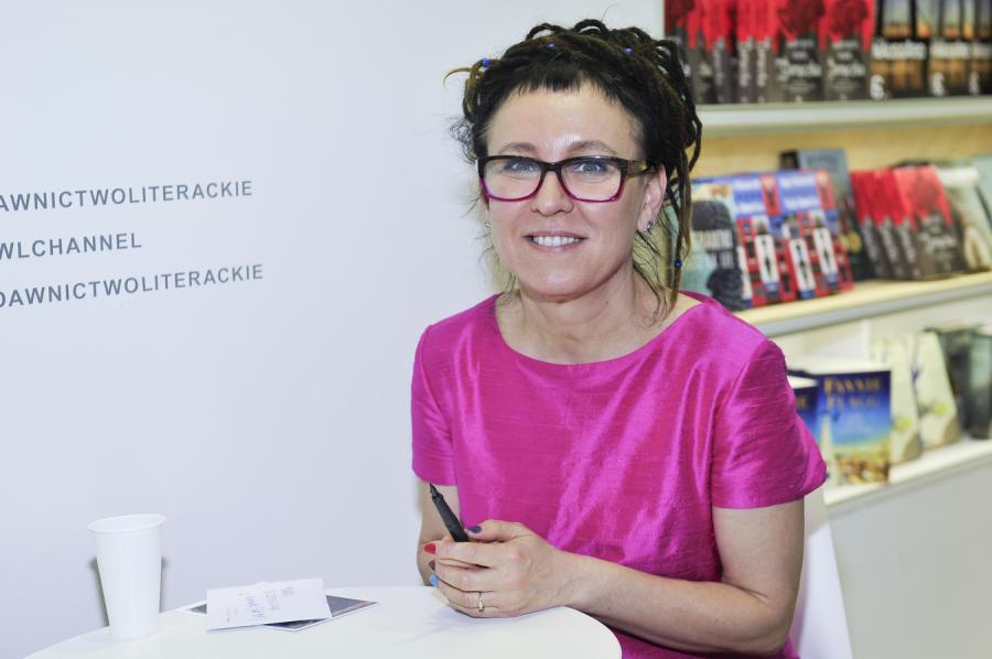 Olga Tokarczuk na Targach Książki