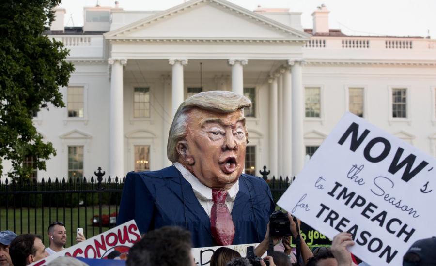Protesty przed Biały Domem